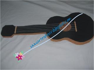 violão artesanato