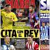 Cita con el Rey, hoy Villarreal-Barça: las portadas