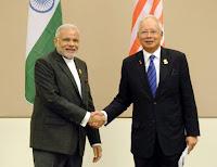 Modi visit Malaysia