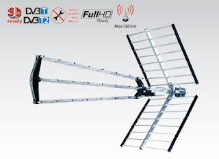 Antena naziemna BX1000 Red Eagle z Biedronki