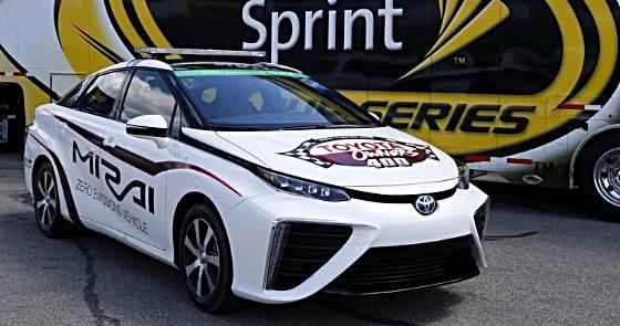 2016 Toyota Mirai Be 1st Hydrogen