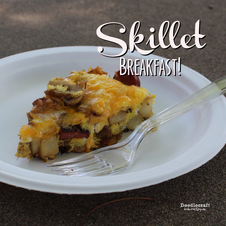http://www.doodlecraftblog.com/2015/07/skillet-breakfast-and-cleaning-cast.html