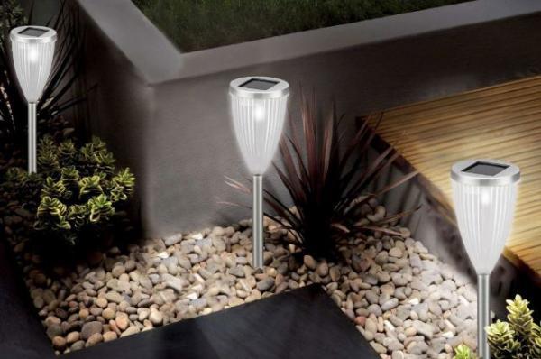 Vintage home las modernas lamparas francesas para jard n - Lamparas exteriores para jardin ...
