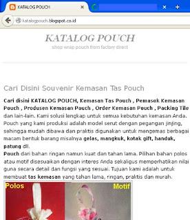 katalogpouch