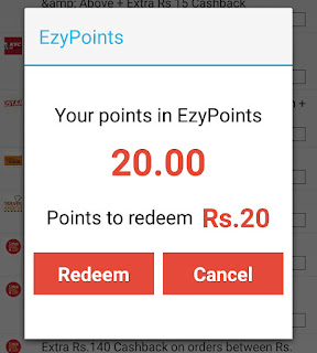 Ezypoint Rs 20 Free Recharge
