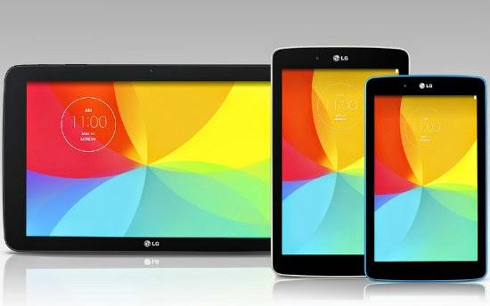 LG G Pad 7-, 8-, 10-дюймов
