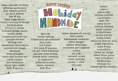Holiday Handmade Denver Vendors