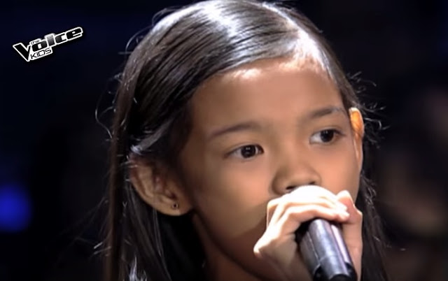 Zephanie Dimaranan sings 'Flashlight' on The Voice Kids Live Semi-Finals
