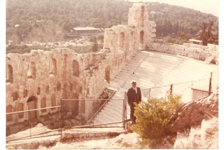 César Rivera - Grecia - Atenas - El Partenón - Año 1983