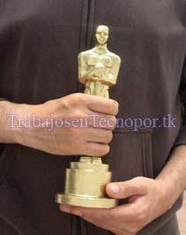 venta replica de la estatuilla del Oscar para fiestas