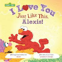 sesame street: I love you just like this cover