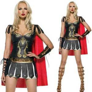 disfraz de romana para mujer adulta