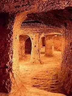 ciudad-subterránea-de-Derinkuyu-en-Turquía. Lugares-sorprendentes Lugares-del-mundo Turismo-Internacional Turismo-en-Turquía