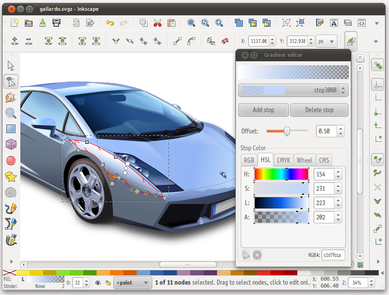 20 most highly rated applications to install from ubuntu for Open source adobe illustrator