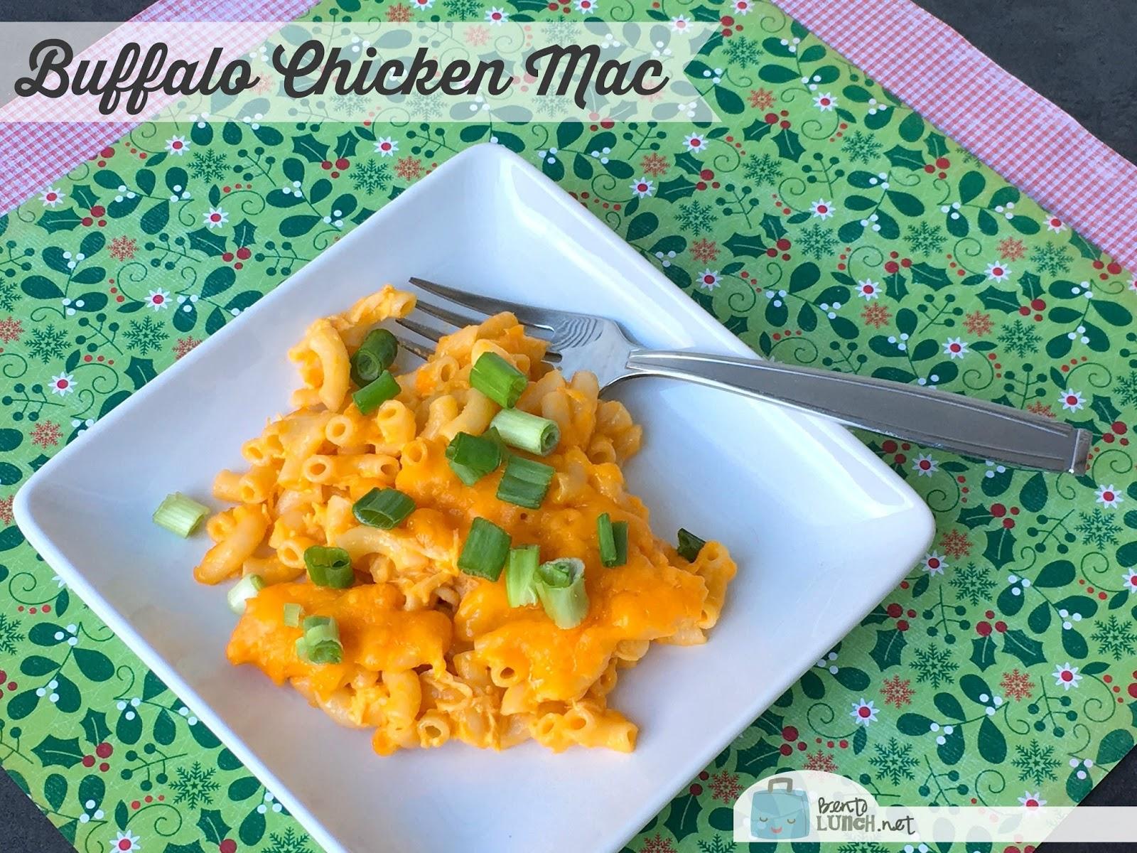 Buffalo Chicken Mac Cookingupholidays