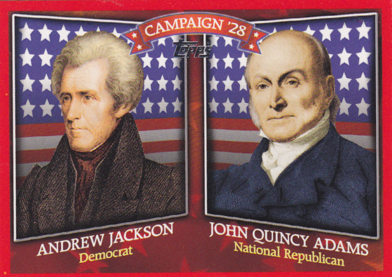 andrew jackson won the election of Quincy adams won the election of 1824 over jackson in what  than the other  candidates, andrew jackson had more national fame and.
