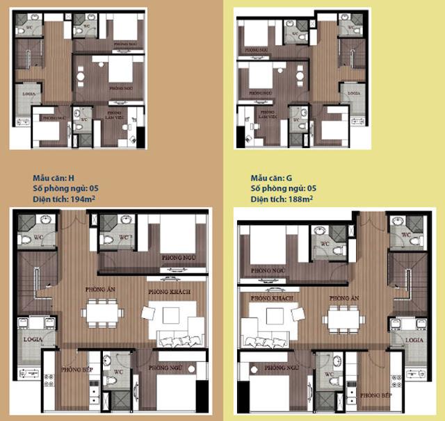căn hộ chung cư artemis bán - thiết kế tổng thể