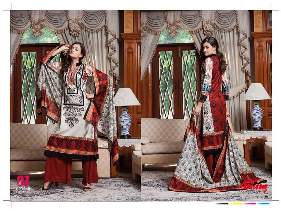 AnumClassicLawnVOL 2ByAl ZohaibTextile 6  - Anum Classic Lawn 2014 Vol-2 By Al-Zohaib Textile