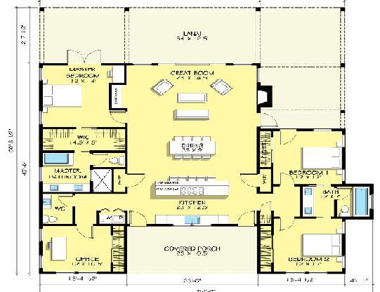 Planos casas modernas im genes de planos de casas de un piso - Planos d casas d un piso ...