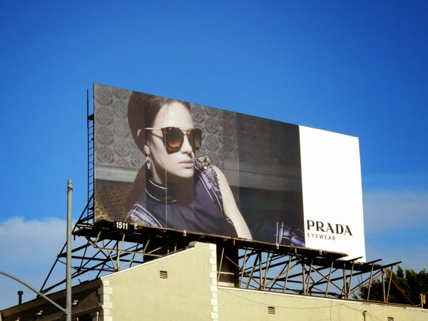 Prada Eyewear 2015 billboard