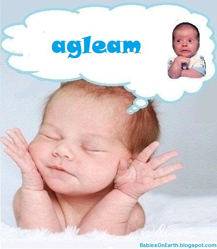 agleam