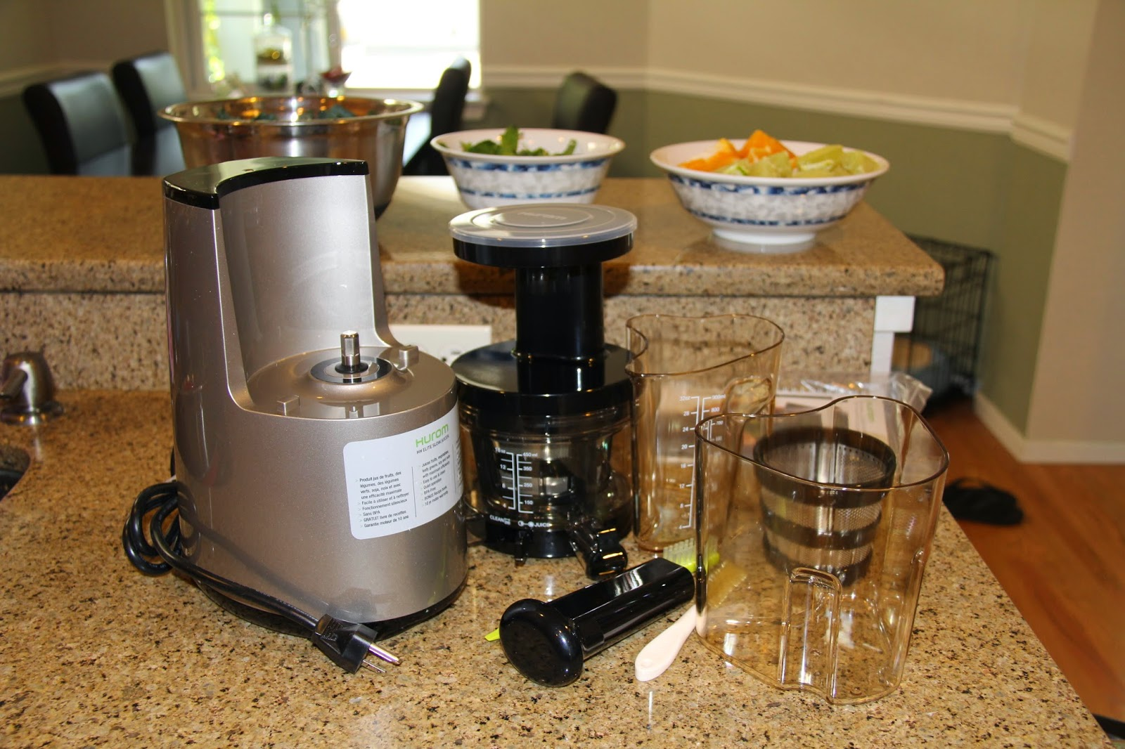 DSK Steph!: I Bought a $400 Hurom Juicer?! Green Juice Recipe