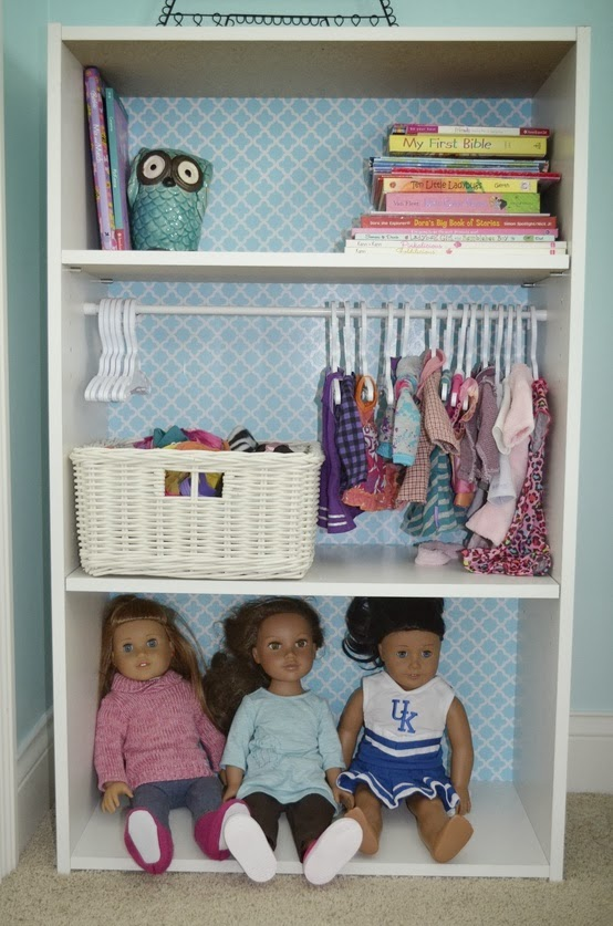 Doll Storage Closet Photos