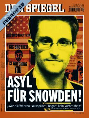 Ασυλο στο Snowden!