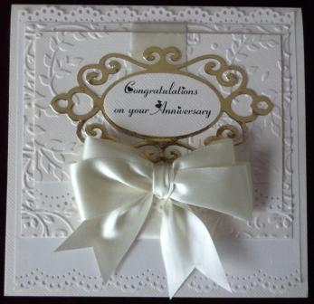 3 Golden Wedding Anniversary Cards