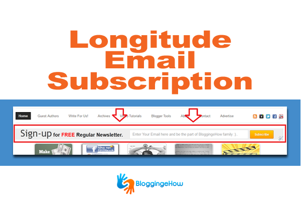 Longitude Email Subscription