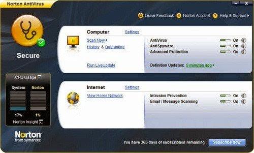 Download Norton Antivirus 21.3.0.12 Free