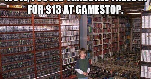 Gamestop trade in values ds system
