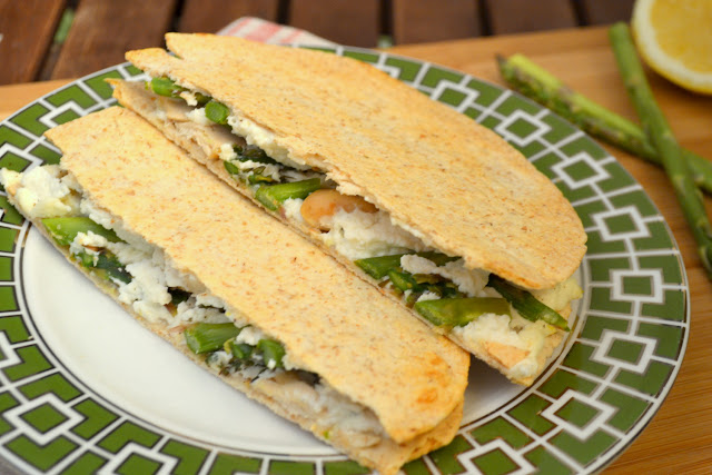 chicken and asparagus quesadilla recipe