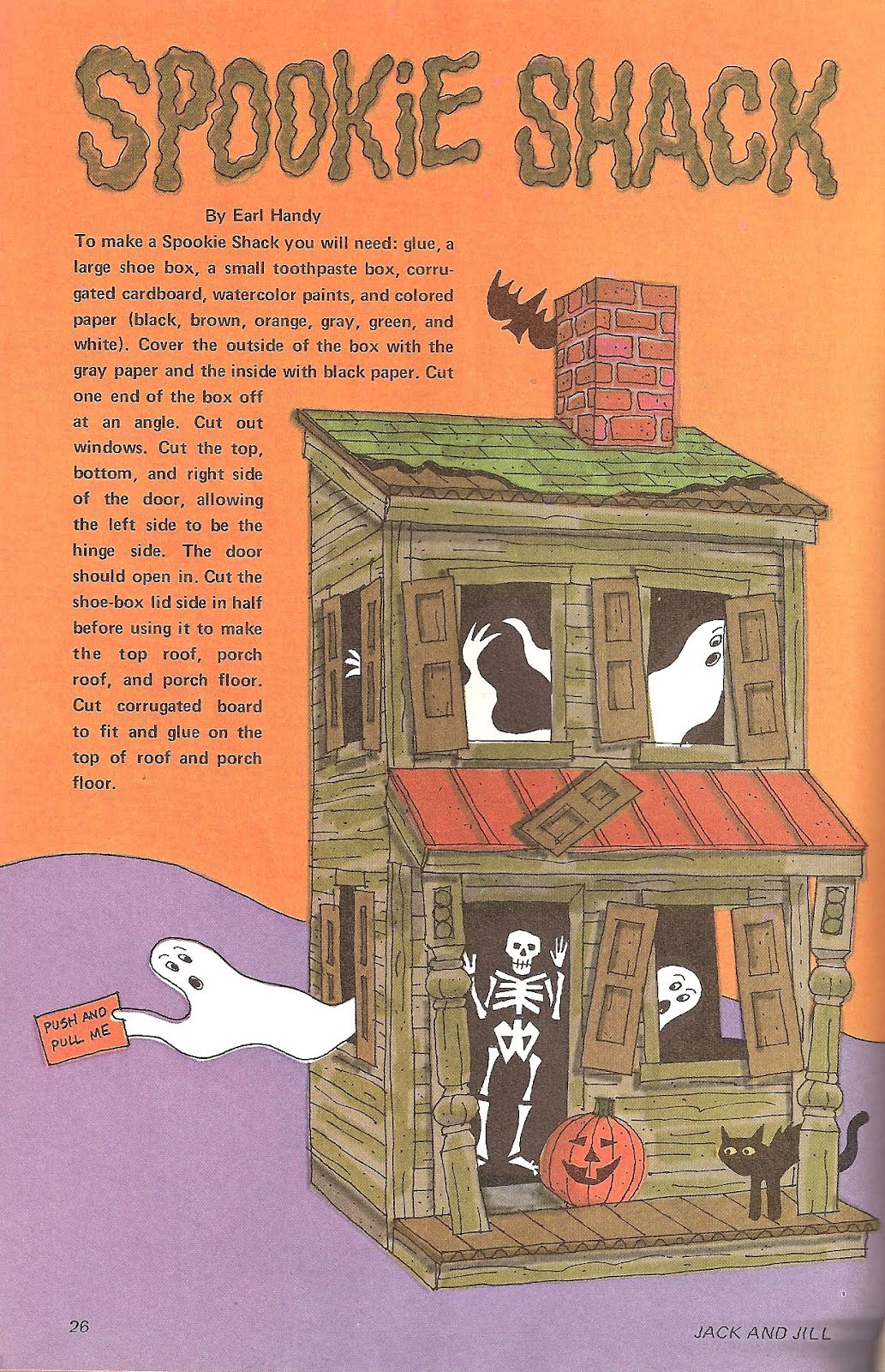 The haunted closet jack and jill magazine october 1973 for Jack and jill stories