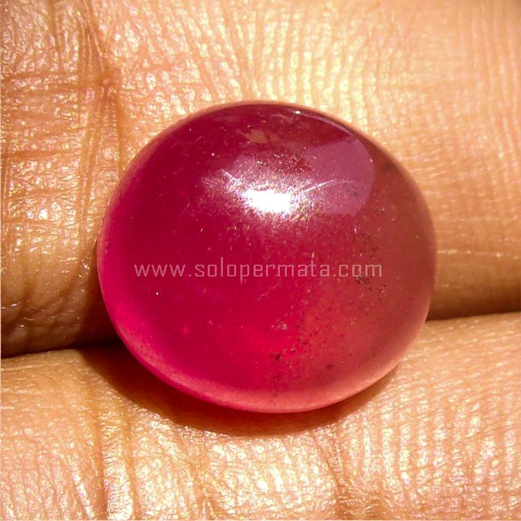 Batu Permata Merah Delima Ruby Sp955 Batu Moldavite Toko Batu Akik Permata Mulia Natural
