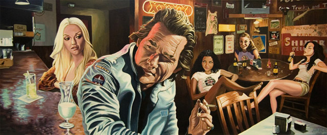 filmes cartunizados justin Reed death proof a prova de morte tarantino