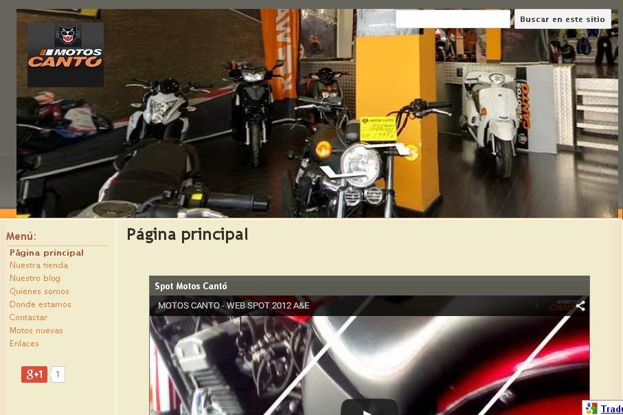 Visita la web de Motos Cantó