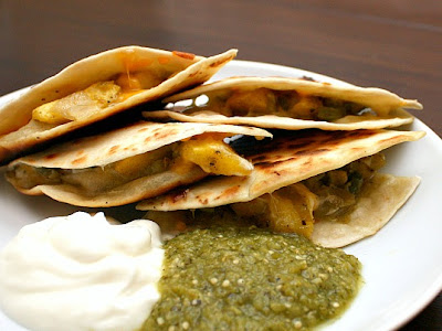 APPLE A DAY: Meatless Monday--Acorn Squash Quesadillas