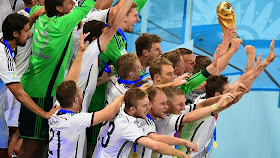 BRAZIL 2014: GERMANY WIN THE WORLD CUP: