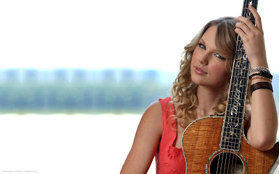 Taylor Swift Country Celeb - Celebrity Close-Ups Wallpapers