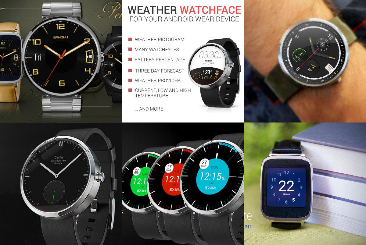 10 Wear Face Android Wear Gratis Terbaik untuk Smartwatch di Google Play Store