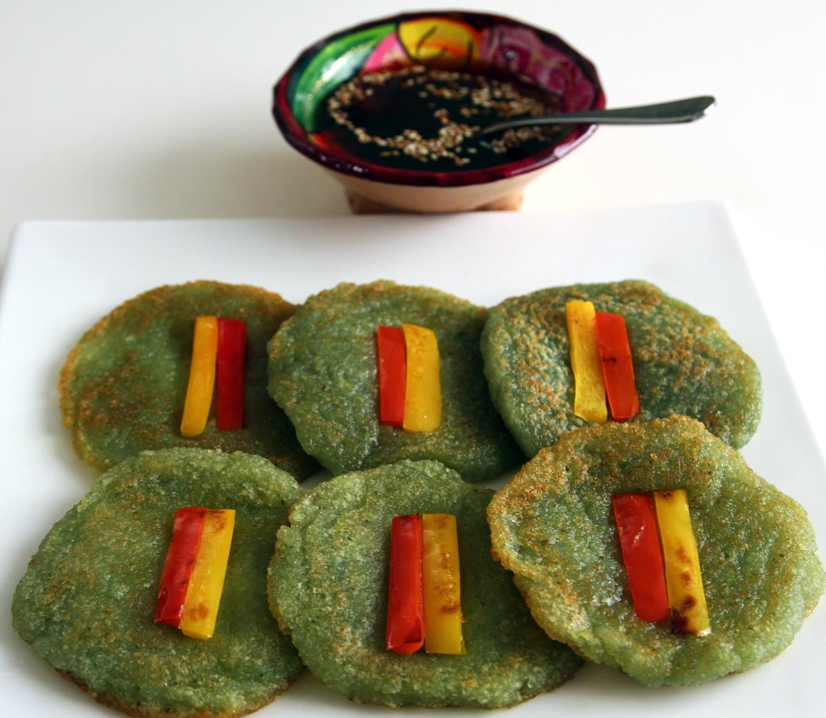KOREAN KIM'S MART: Korean potato Pancake( GAMJAJEON)