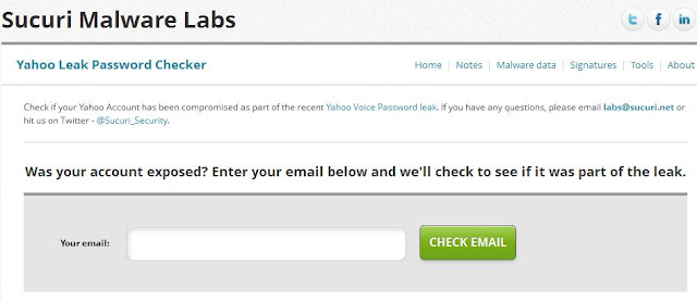 Check If Yahoo Email Was Hacked