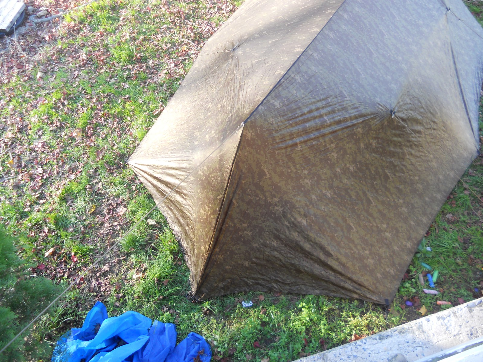 Showing how to close off the doors. & Modern Combative Systems LLC: Warbonnet Superfly Ground Tarp - First ...