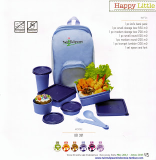 Info & Harga Twin Tulip Tulipware 2014 : Happy Little