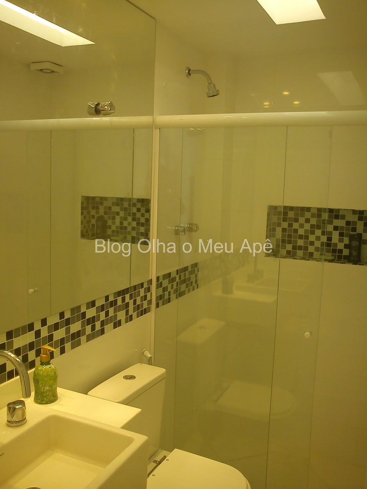 OLHA O MEU APÊ: Banheiro 100% pronto finalmente #BDAC0E 1200 1600