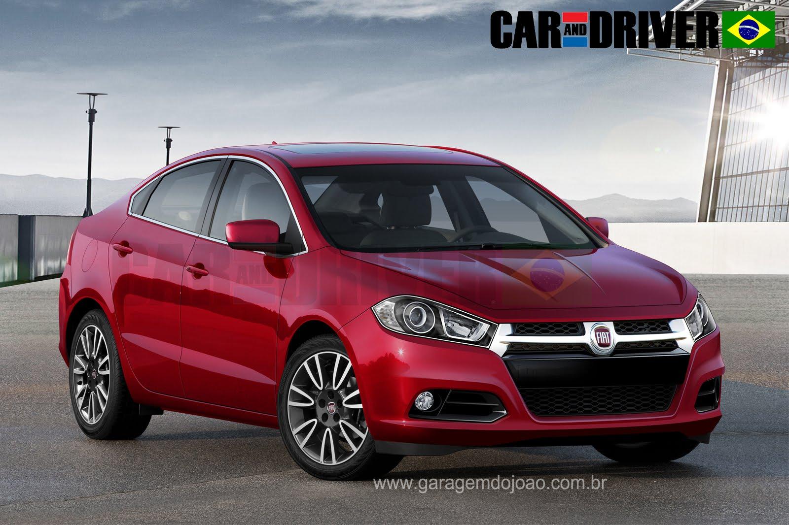 Sedã médio da Fiat na China tem nome: Viaggio