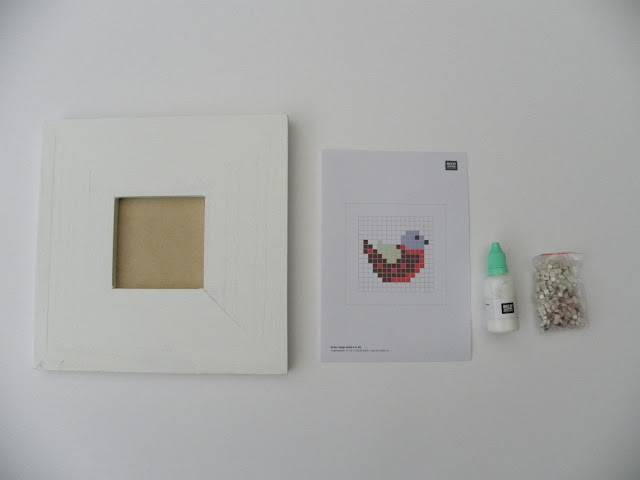 Rico Design Mosaic Bird Picture Kit