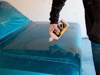 pembersih wax cat mobil