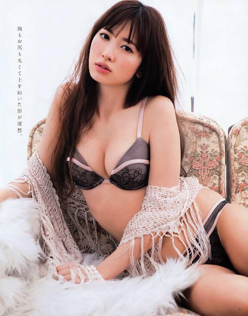 Kojima Haruna para ANAN foto4